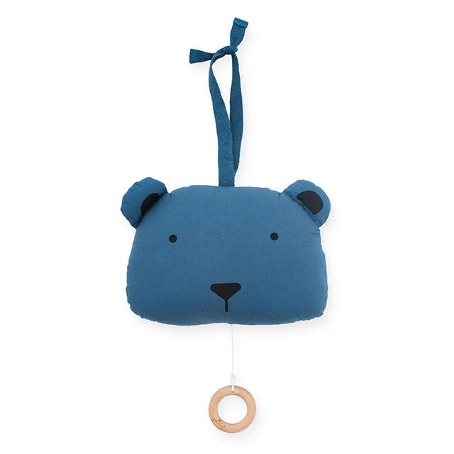 Spieluhr Animal Club Bär blau