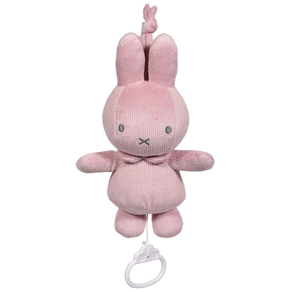 Spieluhr Miffy Hase Cord rosa
