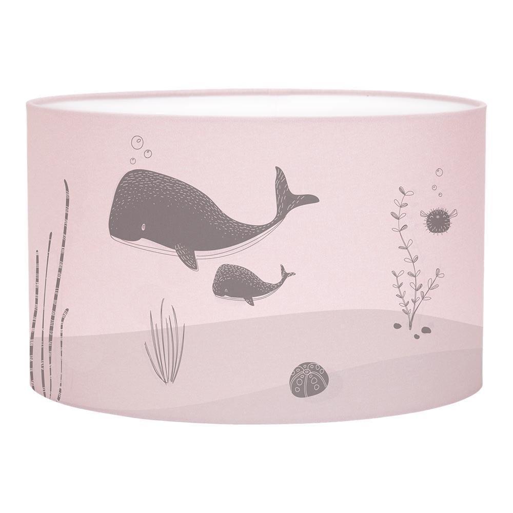 Kinderzimmer Hängelampe Silhouette Ocean rosa