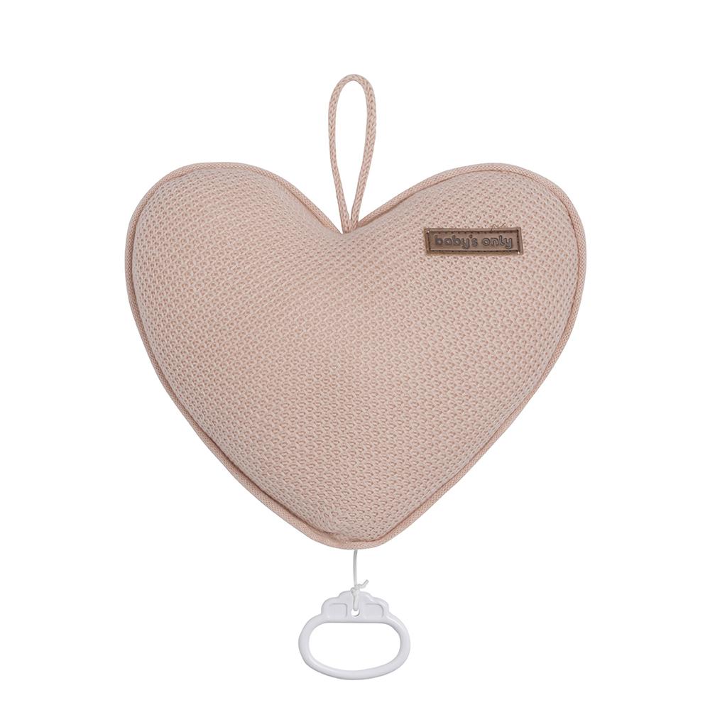 Spieluhr Herz Classic blush