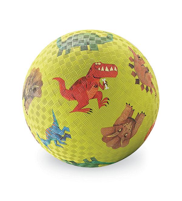 Naturkautschuk Ball Dinosaurier 13 cm