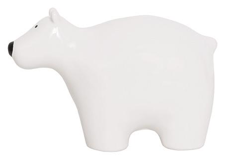Keramik Spardose Eisbär weiß