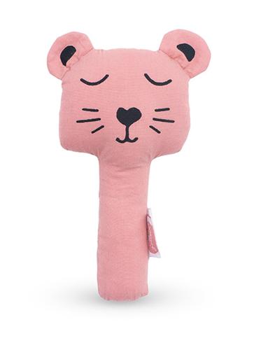 Greifling Rassel Animal Club Bär rosa