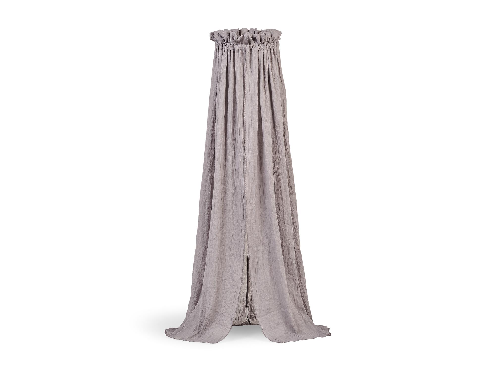 Betthimmel Vintage grau (155 cm)
