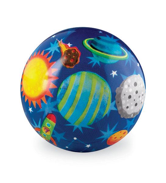 Crocodile Creek Ball Weltraum dunkelblau