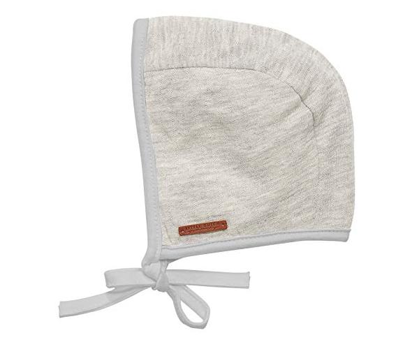 Baby Mütze Pure grau (Gr. 0-3 Monate)