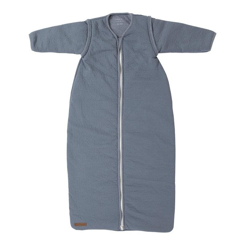 Little Dutch Schlafsack Winterschlafsack Pure blau Gr. 90 cm
