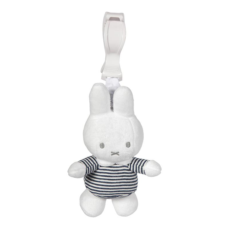 Aufziehtier Miffy Hase ABC gestreift weiß grau