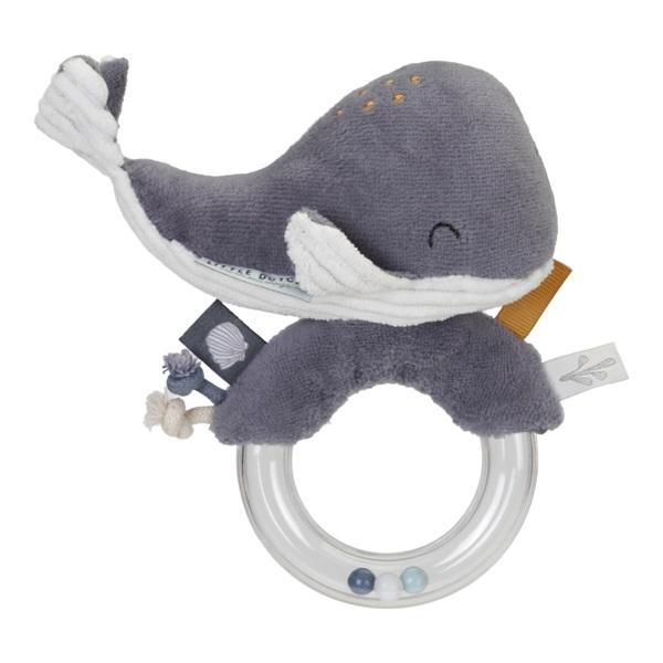 Ringrassel Wal Ocean blau