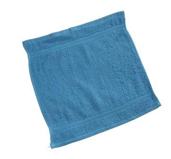 Spucktuch Frottee türkisblau