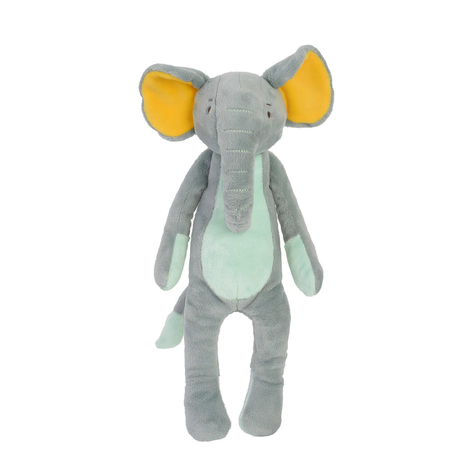 Plüsch Elefant Stofftier Kuscheltier stonegreen 30 cm