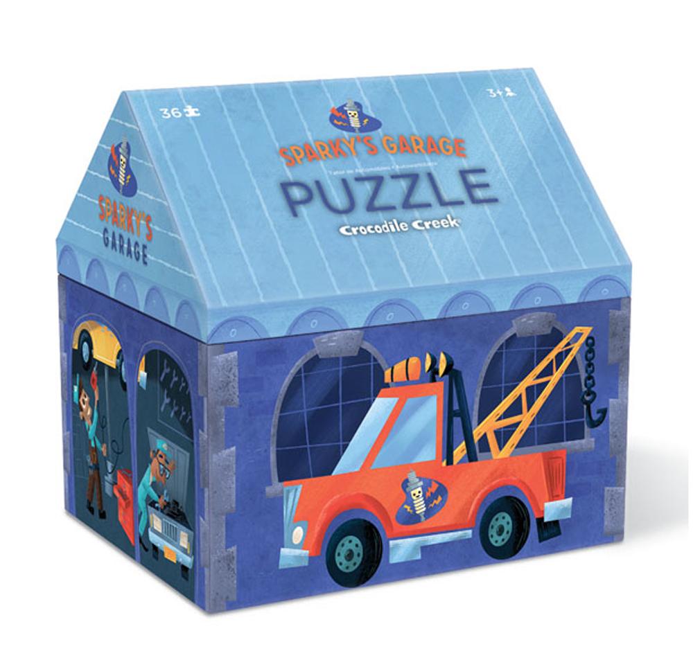 Puzzle Autowerkstatt 36 Teile
