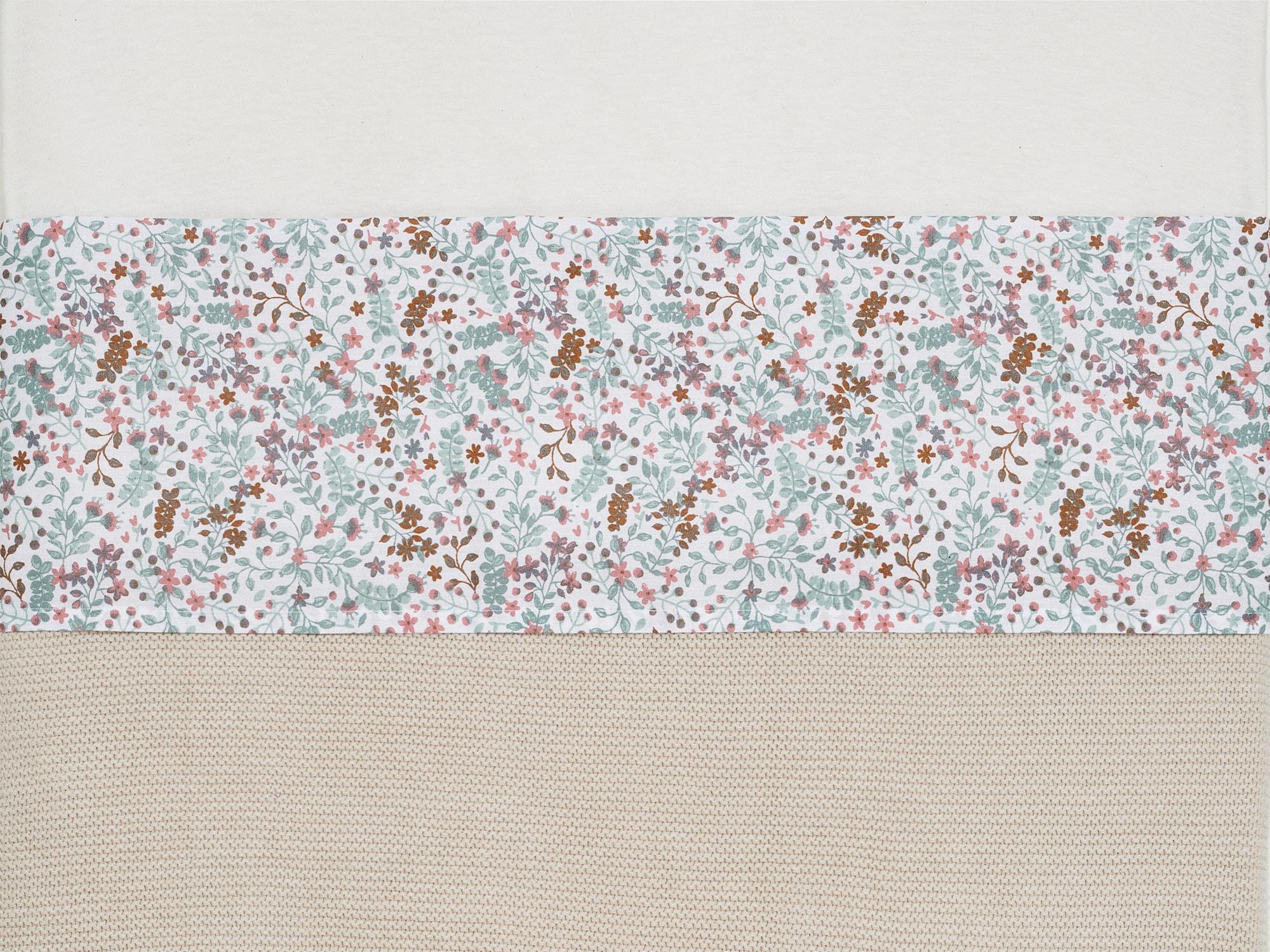 Bettlaken Wiegenlaken Bloom (Gr. 75x100 cm)