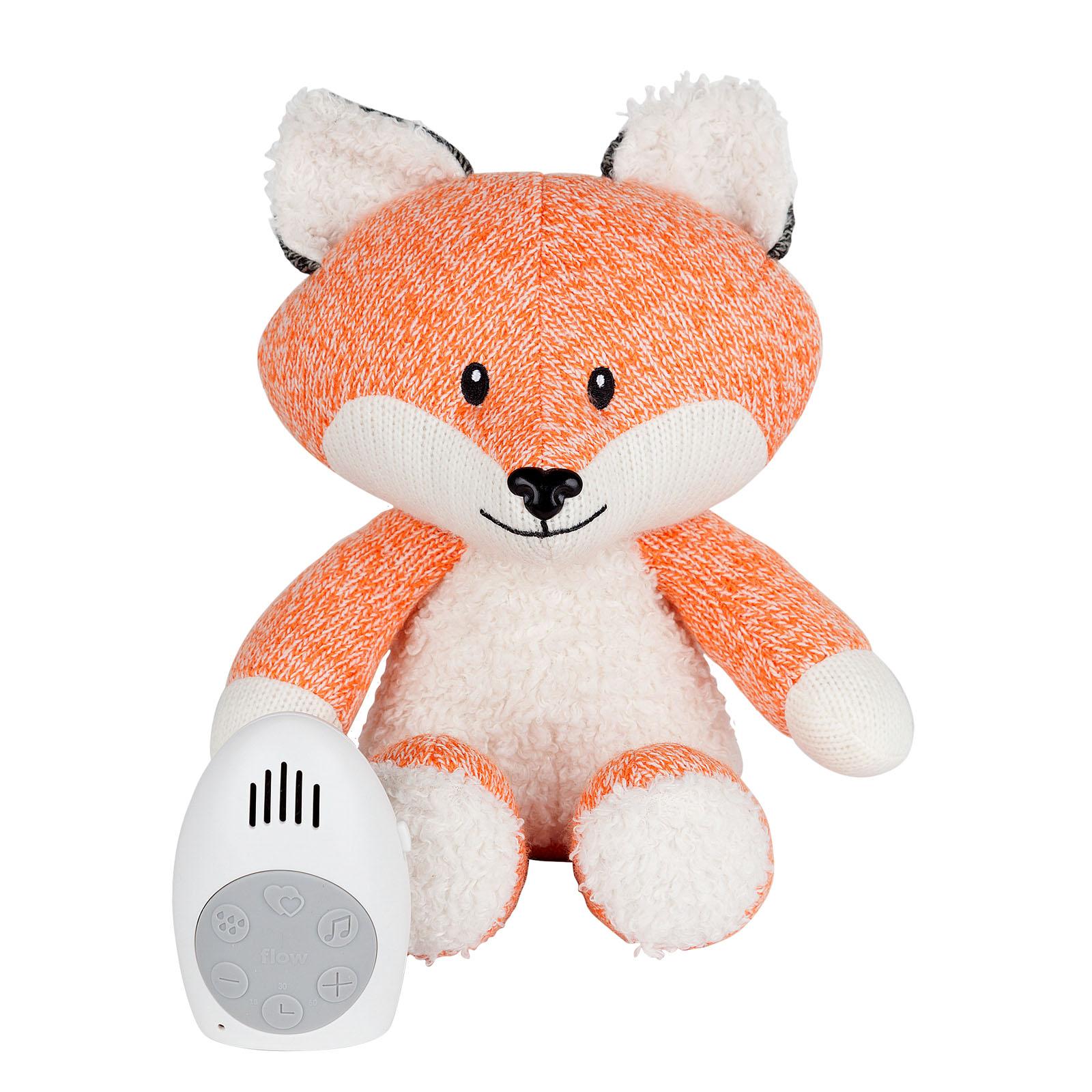 Einschlafhilfe Stofftier Plüschtier mit Comforter Spieluhr Fuchs Robin orange 17 cm