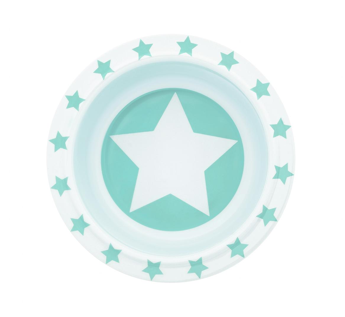 Schale Melamin STARS mint
