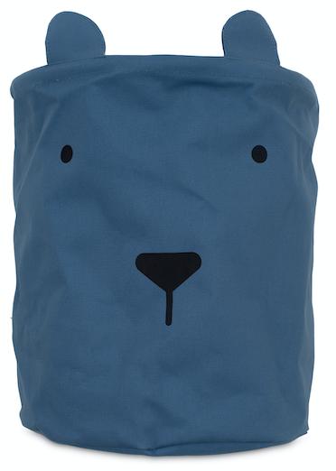Korb/Kiste/Box zur Aufbewahrung Animal Club Bär blau