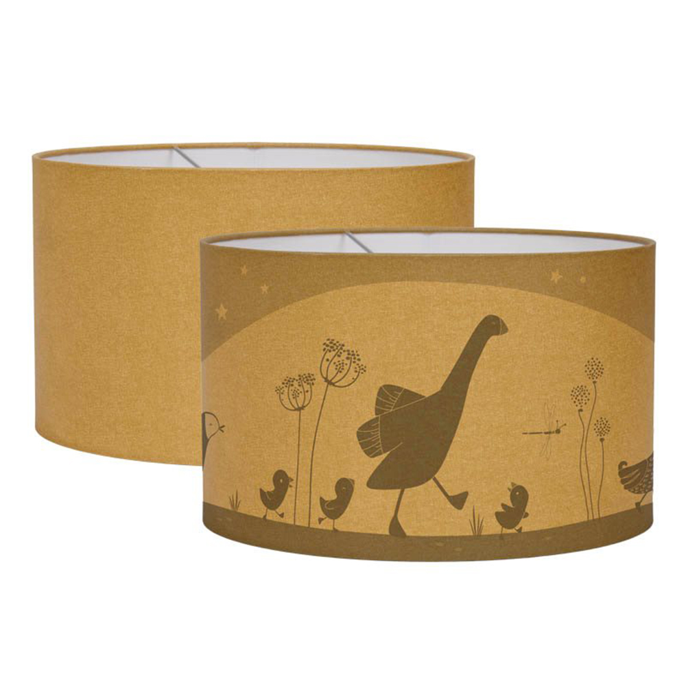 Hängelampe Silhouette Little Goose/Kleine Gans ocker