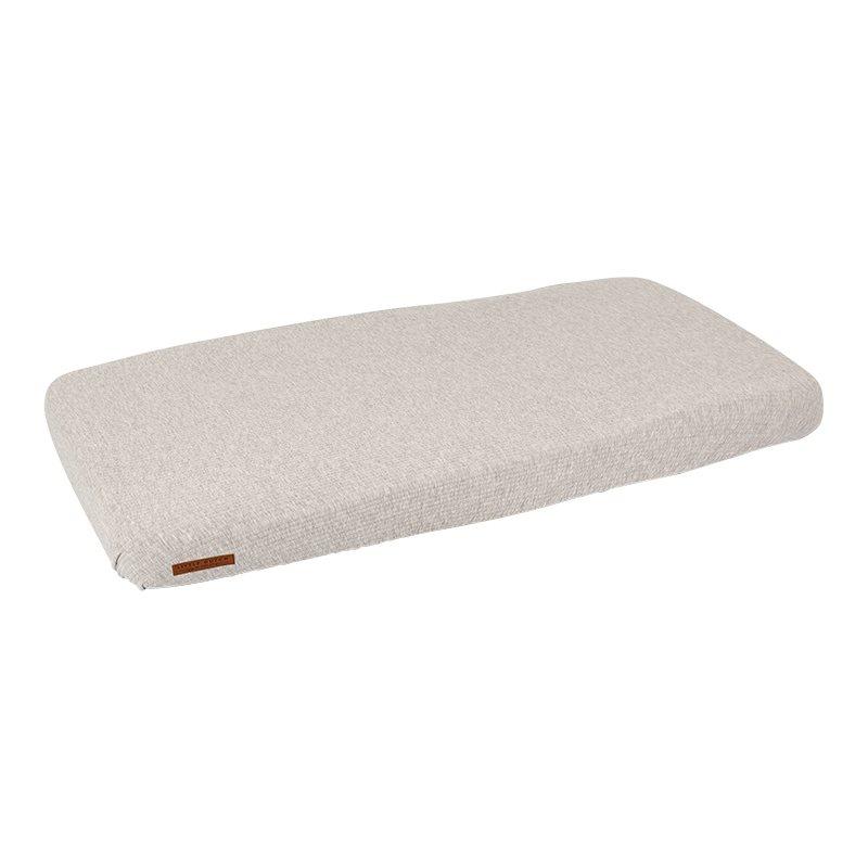 Spannbetttuch für Kinderbett Pure grau (Gr. 70x140 cm)