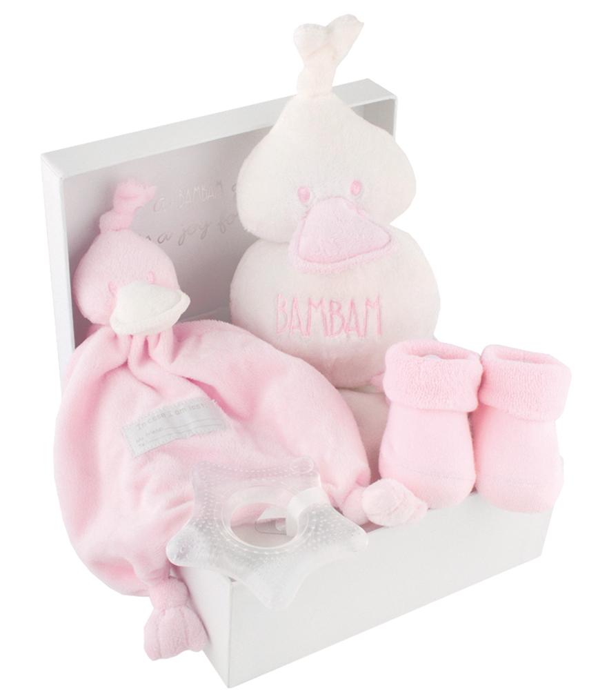 Geschenkset zur Geburt rosa