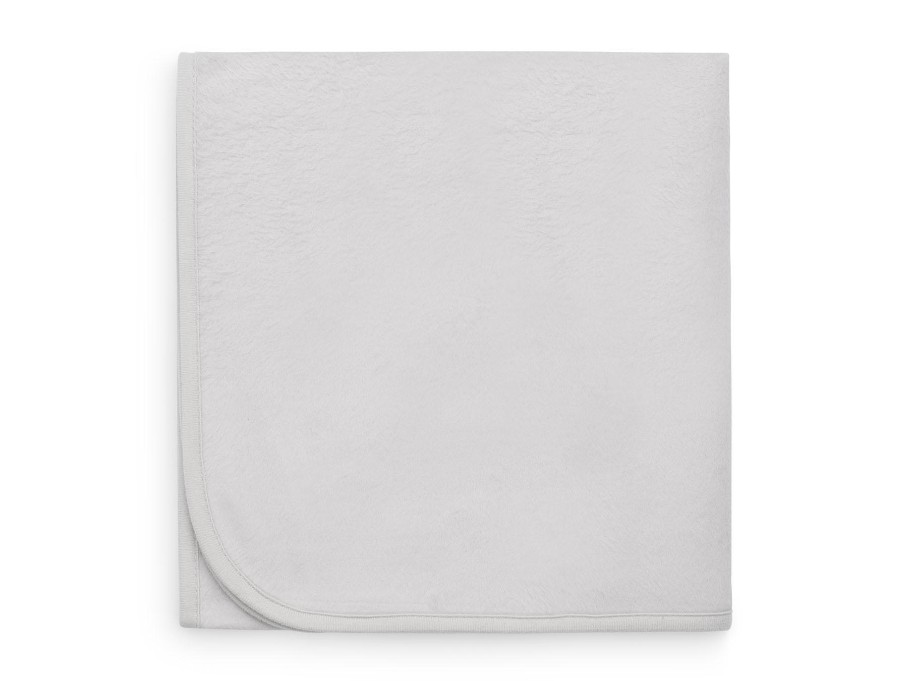 Babydecke Basic soft grau (75x100 cm)